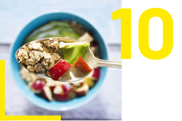 10 : Fibres alimentaires contre la constipation